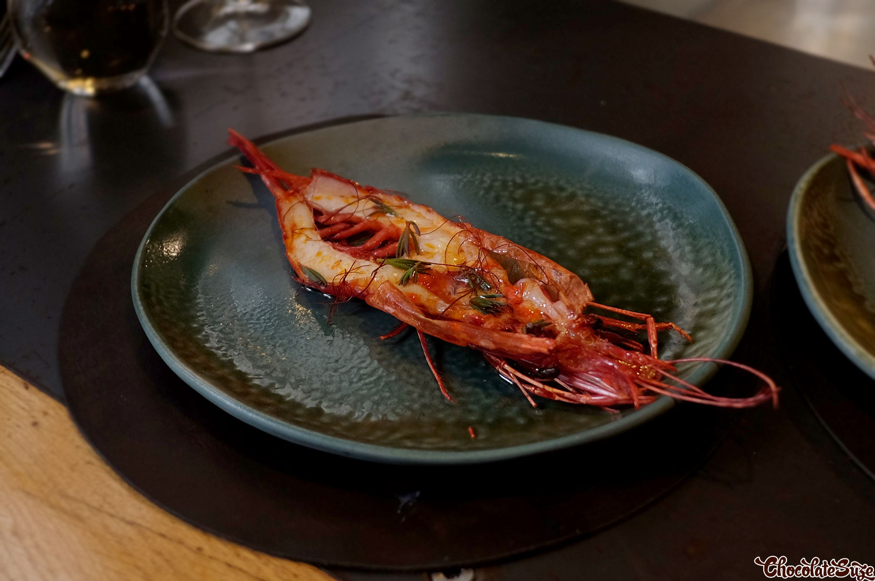 Scarlet Prawn at Firedoor, Surry Hills