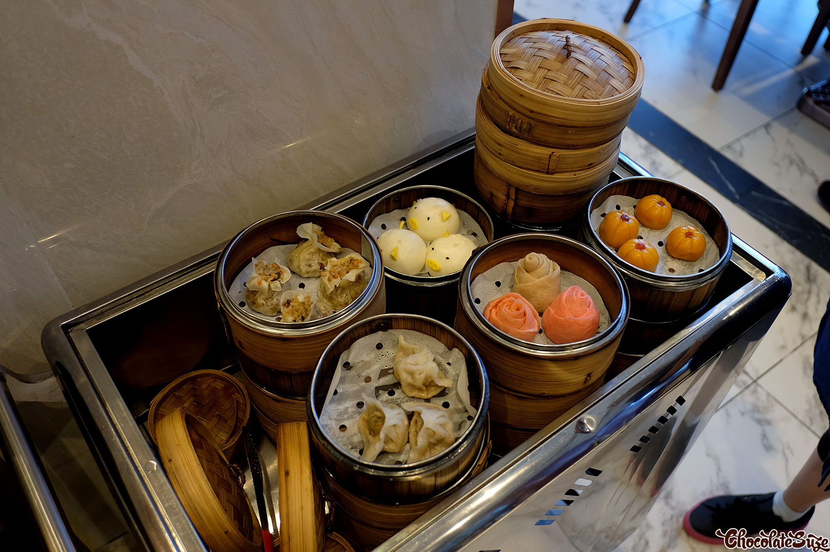 Steamed station, Legend Hot Pot buffet, Burwood