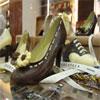 scarpe cioccolato