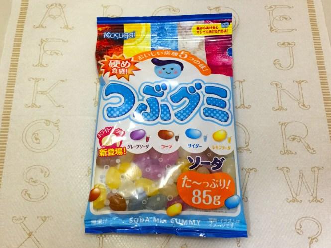 『春日井』の「つぶグミソーダ」のど飴の春日井製菓のグミ