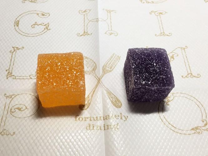 『豊栄』の「フルーツアップ」オレンジとグレープ