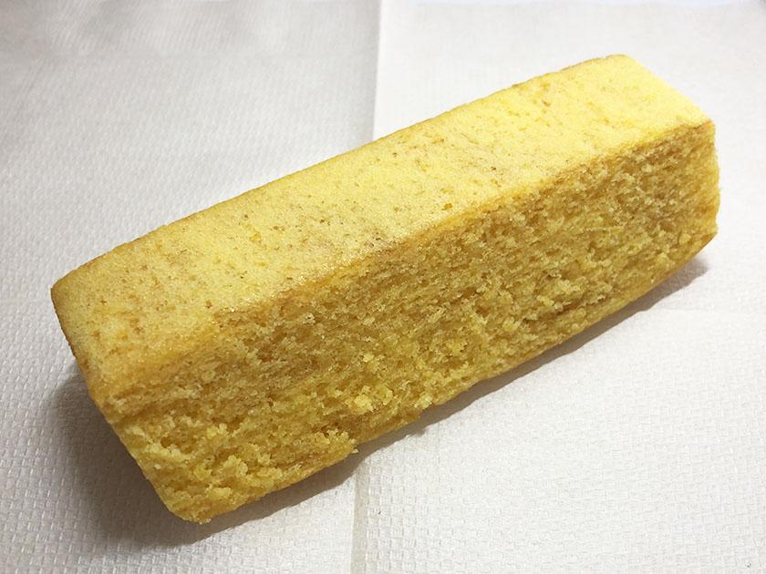 『無印良品』の「不揃いバウム ゆず」バターとほぼ一緒