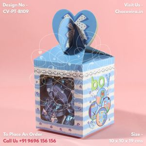 baby boy announcement chocolate gift boxes for friends