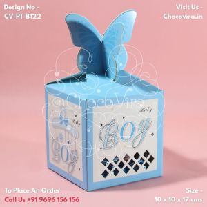 cute baby birth announcements chocolate boxes