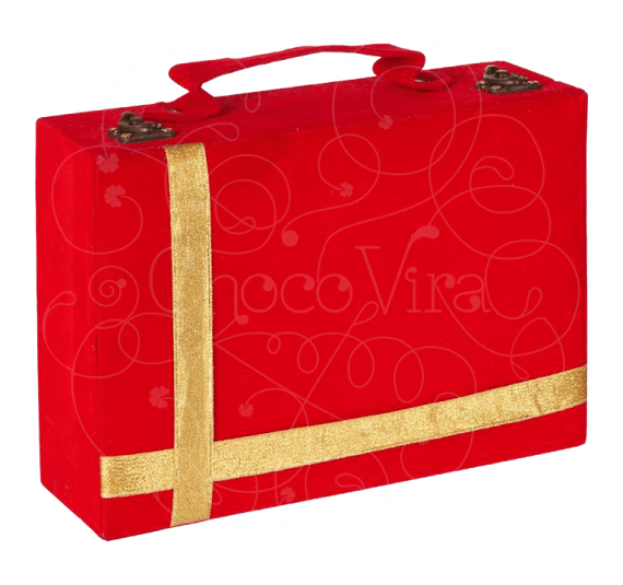 Luggage Bag Box for Chocolate Gifting for Employees
