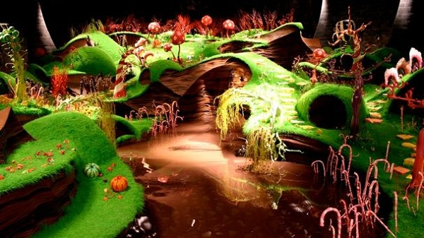 Chocolate River by Willy Wonka