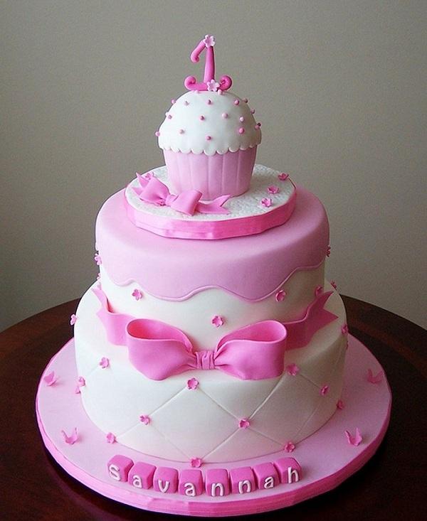 Pink Birthday Cake for Birthday
