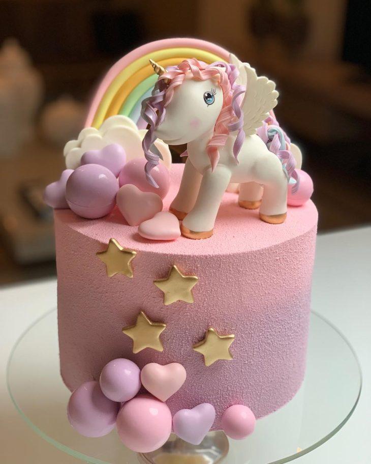 Unicorn Theme Cake for Birthdays