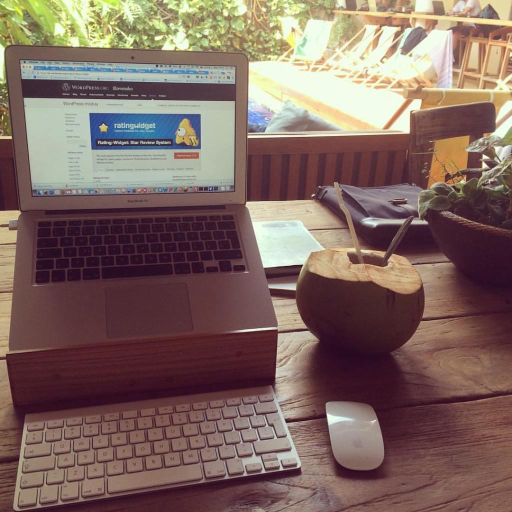 Digitálny nomád na Bali