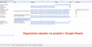 Google Sheets - Amazon