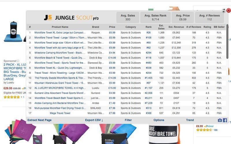 Amazon Junglescout