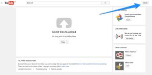 Upload na YouTube