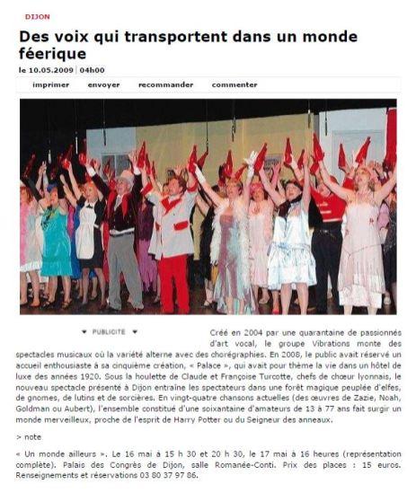 Bien Public 2009-05-10