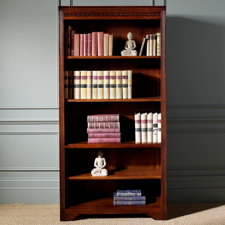 Wood Bros Open Bookcase Choice Furniture