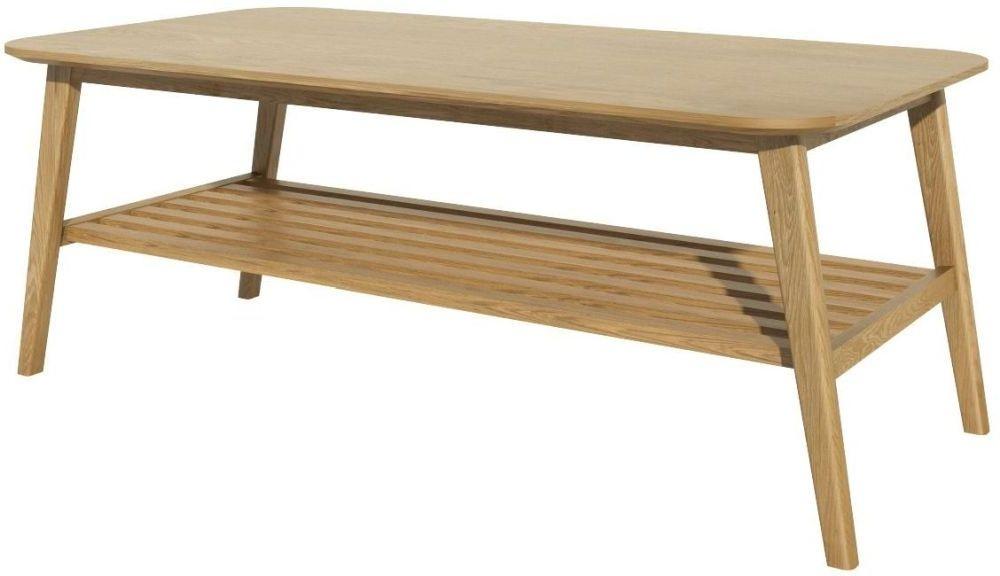 homestyle gb scandic oak small coffee table cfs furniture uk