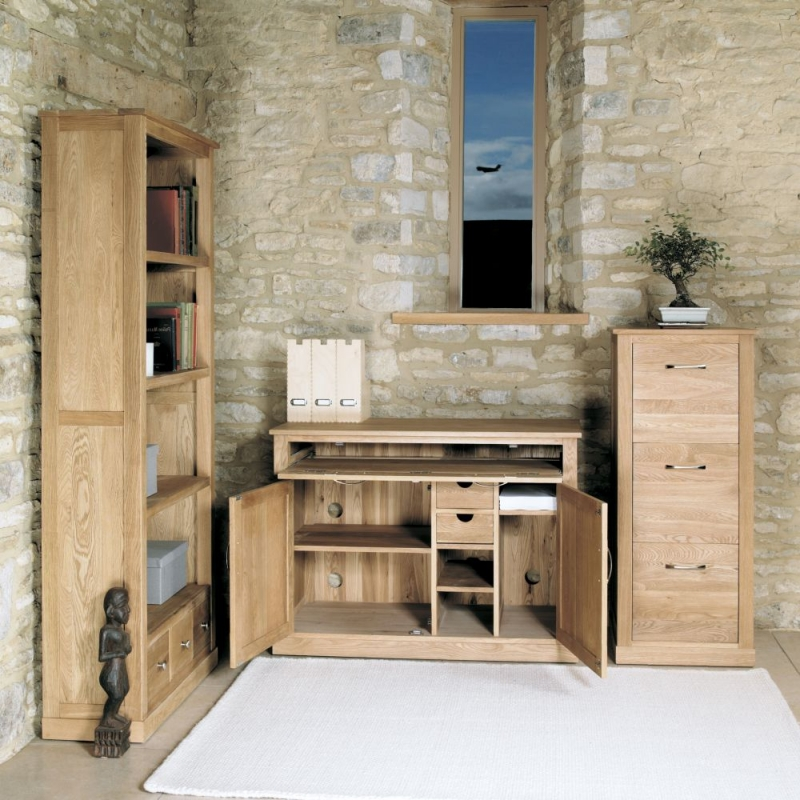 Baumhaus Mobel Oak Hidden Home Office Mobel Oak Furniture