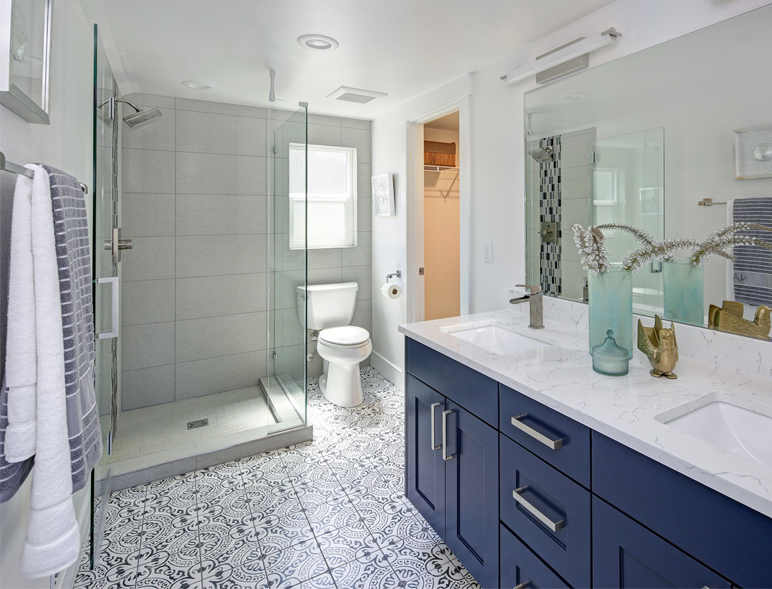 Small Bathroom Remodel Ideas for a Huge Impact | Easy ... on Small Bathroom Remodel  id=64689