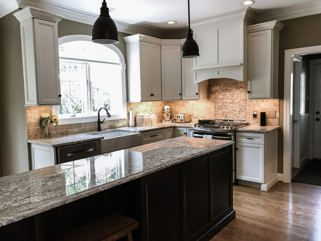 Trending Kitchen Cabinet Colors For 2020   5 Cool Cabinet ... on Modern Kitchen Counter  id=61381