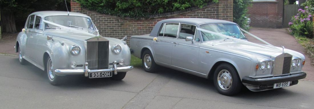 Rolls Royce Wedding Car Hire in Gillingham, Kent