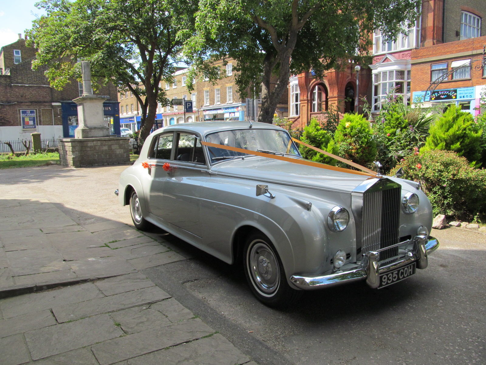 rolls royce silver cloud hire gillingham kent wedding. Black Bedroom Furniture Sets. Home Design Ideas