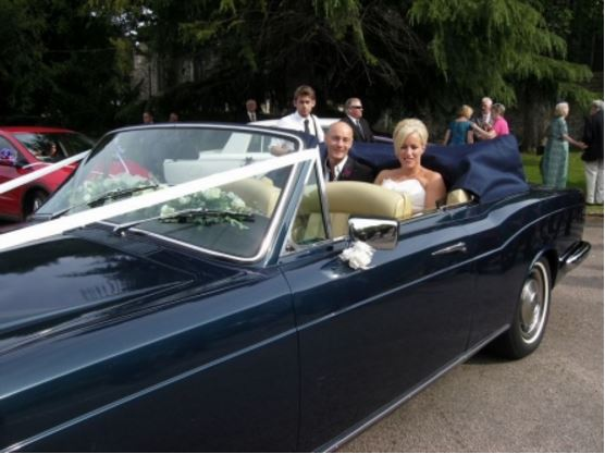 Rolls Royce Corniche Hire Gillingham Kent Wedding Car Hire
