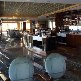 l'immense lounge Club du Ritz Calton Hong-Kong