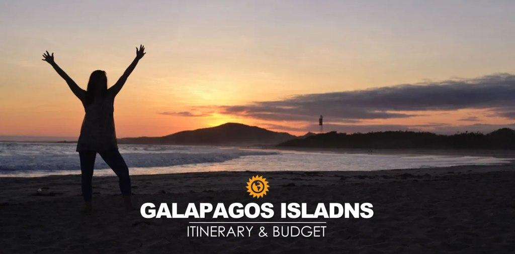 Galapagos itinerary and budget