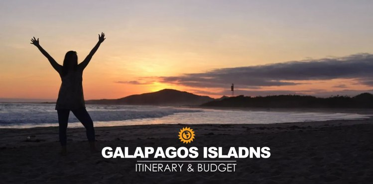 Galapagos itinerary and budget