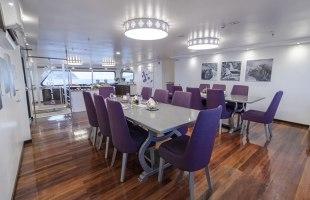 Camila Yacht dining room