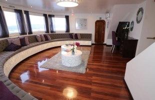 Camila Yacht lounge area