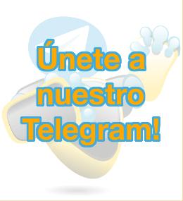 Únete a nuestro Telegram