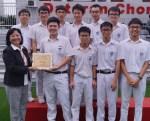 七月份朝会 本校陈科锦获选代表国家参加International Olympiad in Informatics国际赛