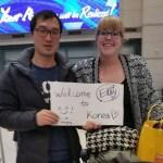 Elly in Korea