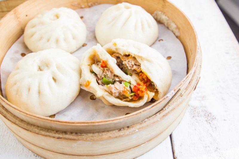 Steamed Pork Bao | 鮮肉包