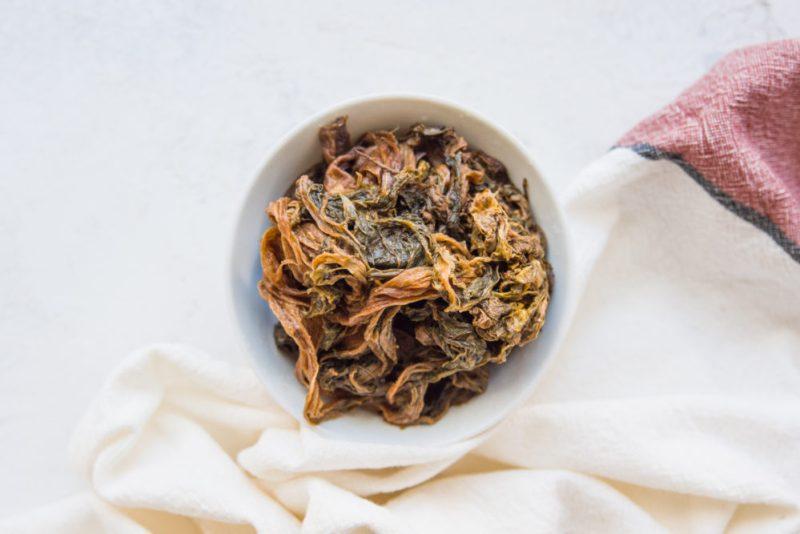 Mei Gan Cai 梅干菜