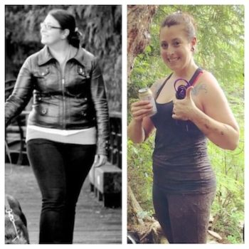 Inspiration Person: Caity Howell losing 80 lbs and becoming Personal Trainer