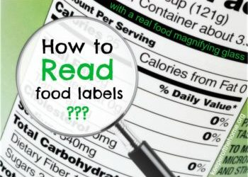 How to read food label, which ingredient to avoid and portion size