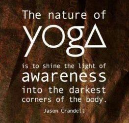Vinyasa Yoga Class, lesson plan Class 9: Side Plank, I am aware