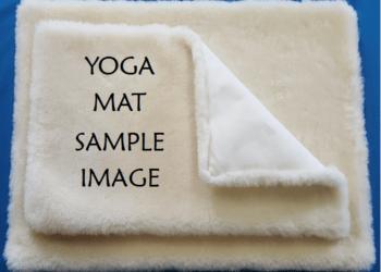 Sheep wool yoga mats from Duncan, BC