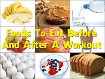What to eat before and after a workout? Eating right food right time