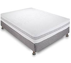 Classic Brands 1 Inch Engage Cool Gel Memory Foam And Innerspring