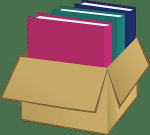 overstuffed box