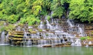 Columbia's famous waterfalls