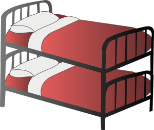 how to disassemble and pack a bunk bed