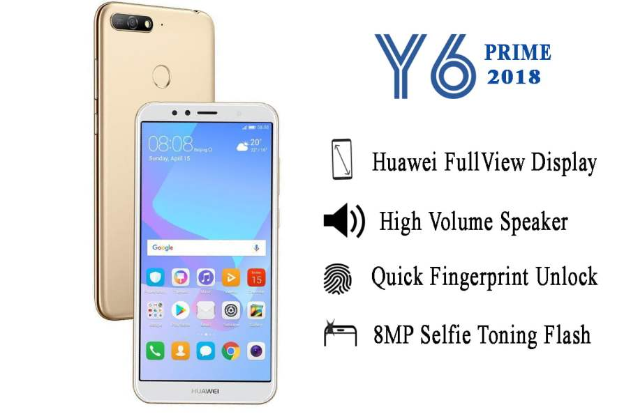 Huawei y6 prime 2018 (ATU-L31) | Choose Your Mobile