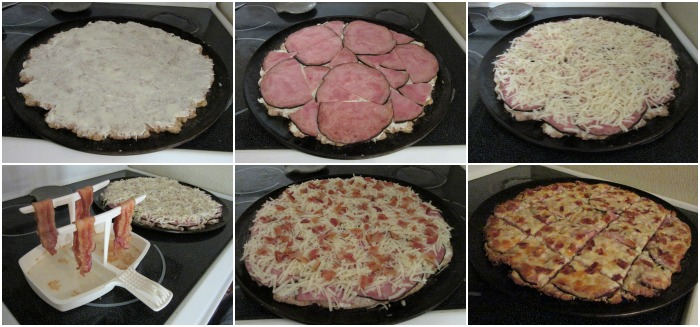 This whole wheat pizza crust rises beautifully (without yeast) and makes a great, healthy base to your homemade pizzas.