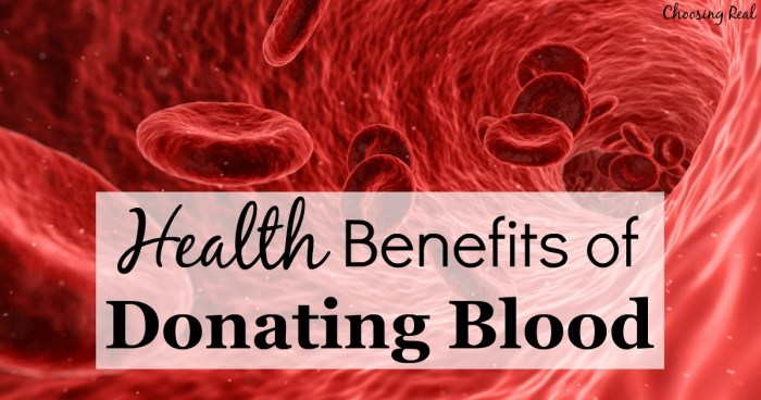One of my favorite ways to give back to the community is by donating blood. We all know how important blood is to patients in need, but what you may not realize is donating blood also has health benefits for the donor, too.