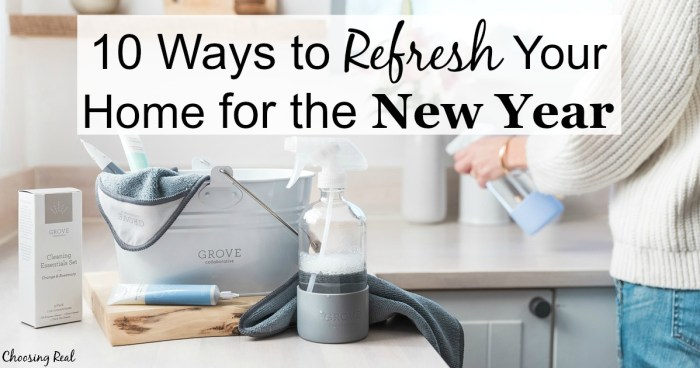 Don't let the winter blues get you down. Here are 10 small ways to refresh your home for the new year.