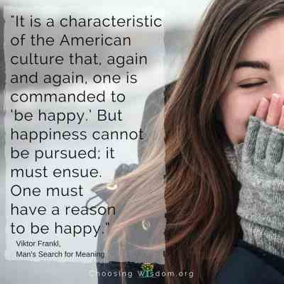 The Wisdom of Choosing Joy