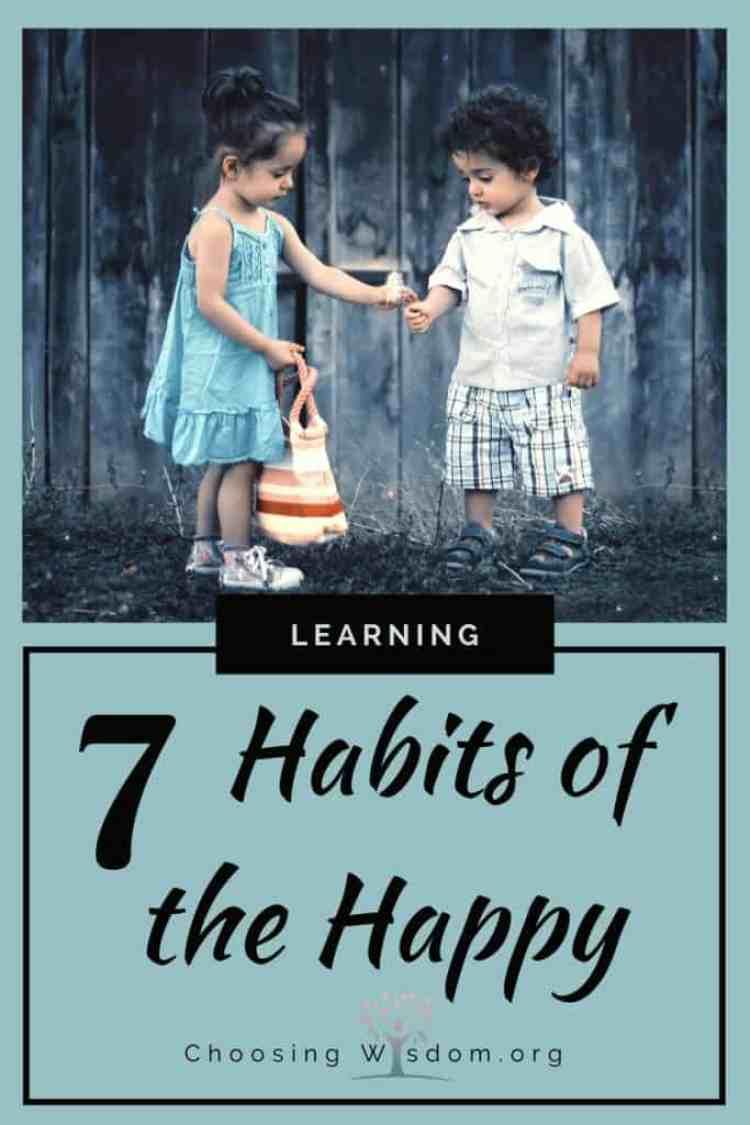 7 Habits of the Happy